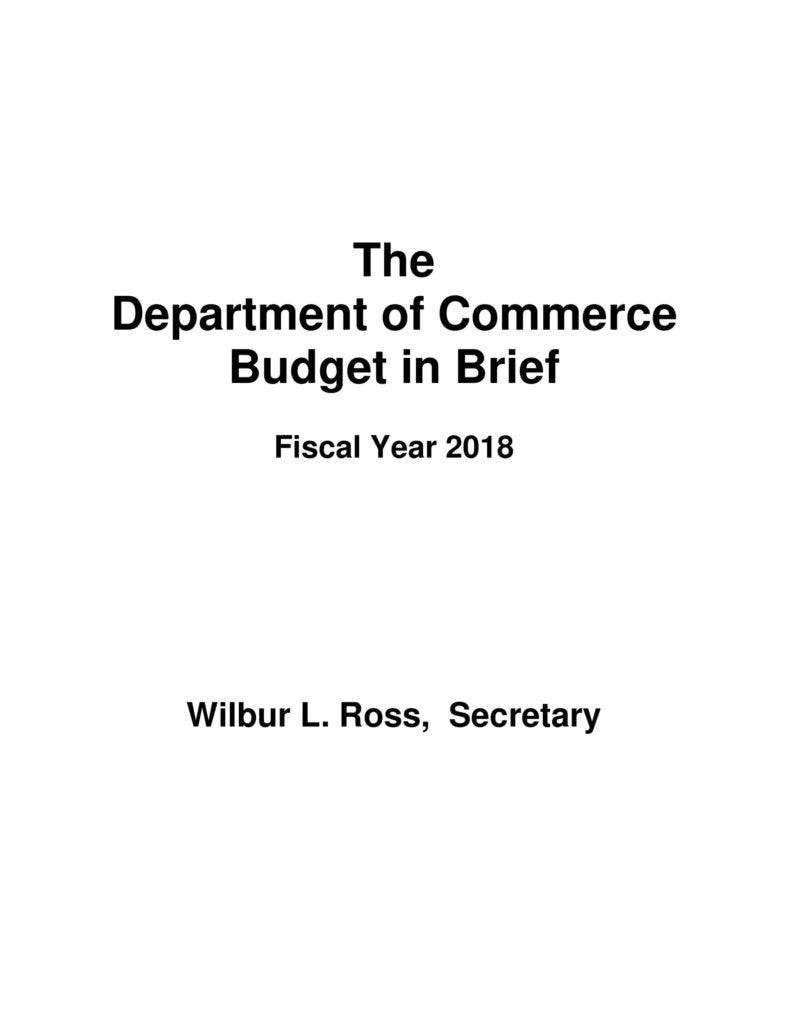 department-of-commerce-budget-in-brief-001