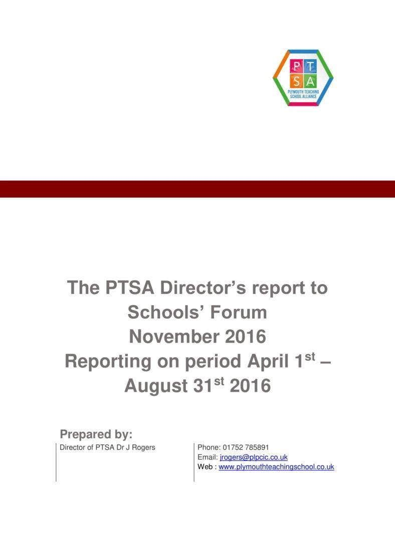 directors report template 788x1114