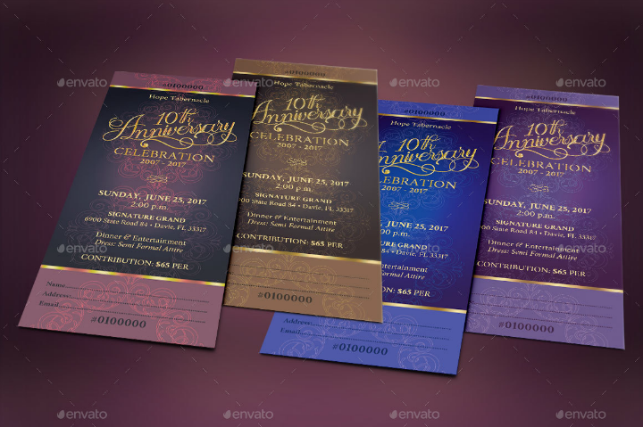 14  restaurant anniversary invitation designs  u0026 templates