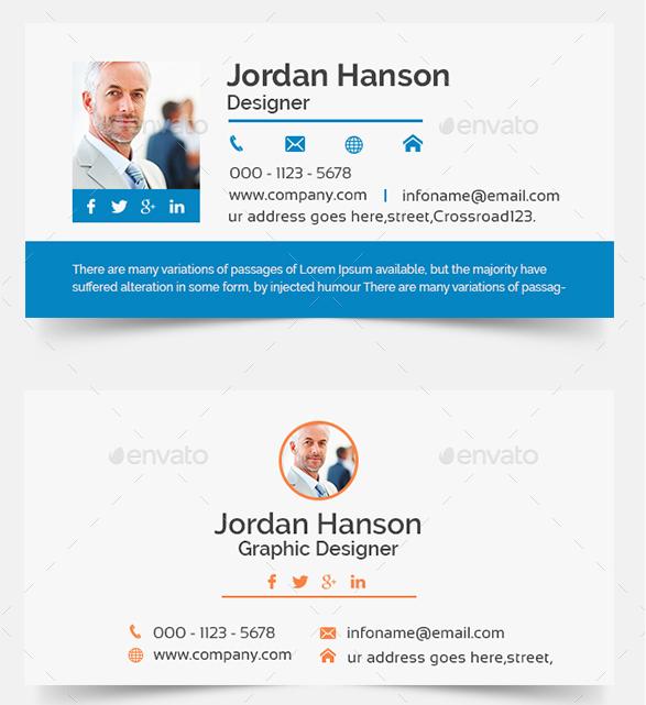 email signature designer