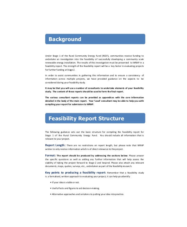 Emergency Fund Feasibility Report