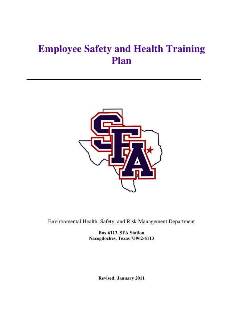 employee safety and health training plan 1 788x1020
