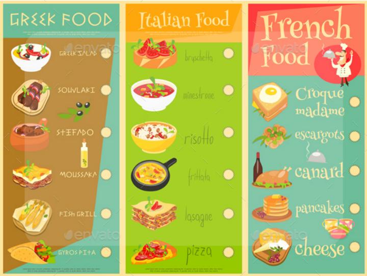 european-cuisine-menu-template-set