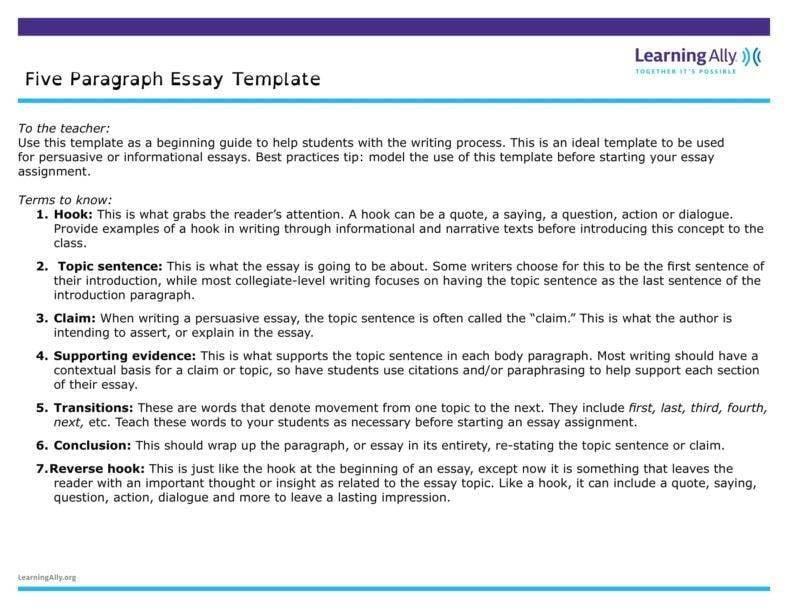11+ Paragraph Outline Templates - PDF | Free & Premium Templates