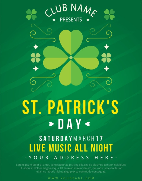 free st patricks day invitation template1