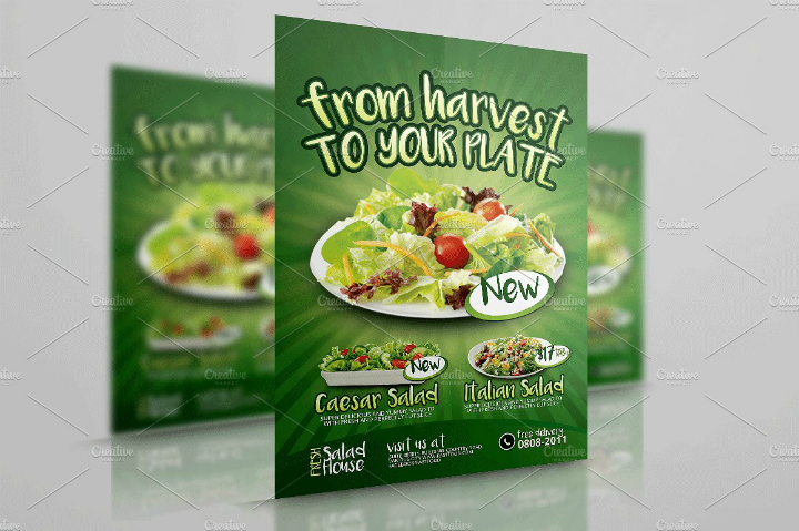 fresh-salad-restaurant-flyer-template