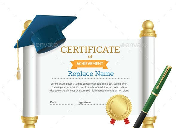 13+ Certificate of Excellence for Students - PSD, AI, Word ...