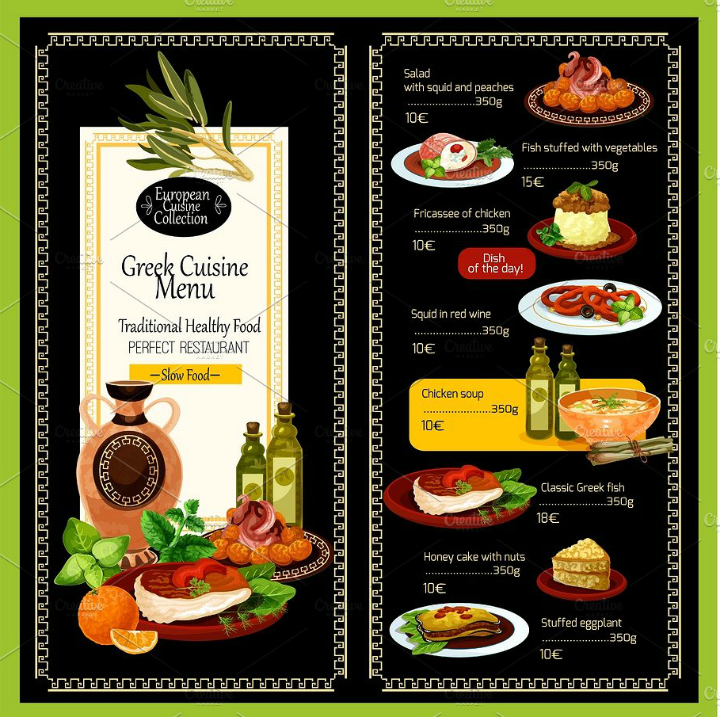 Greek-Restaurant-Cuisine-Vector-Menu-Template