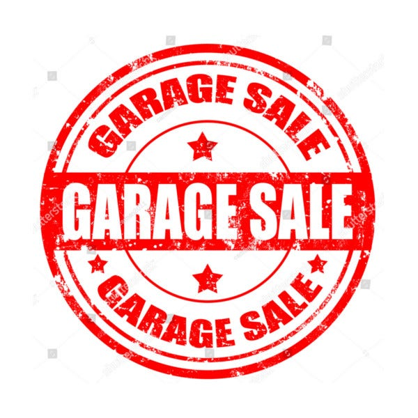 Grunge Garage Sale Sign