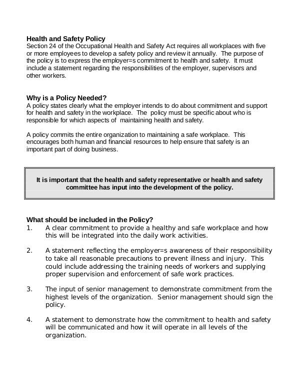 guide-to-workplace-health-safety-policy