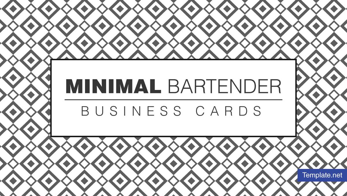 minimalbartenderbusinesscarddesignstemplates