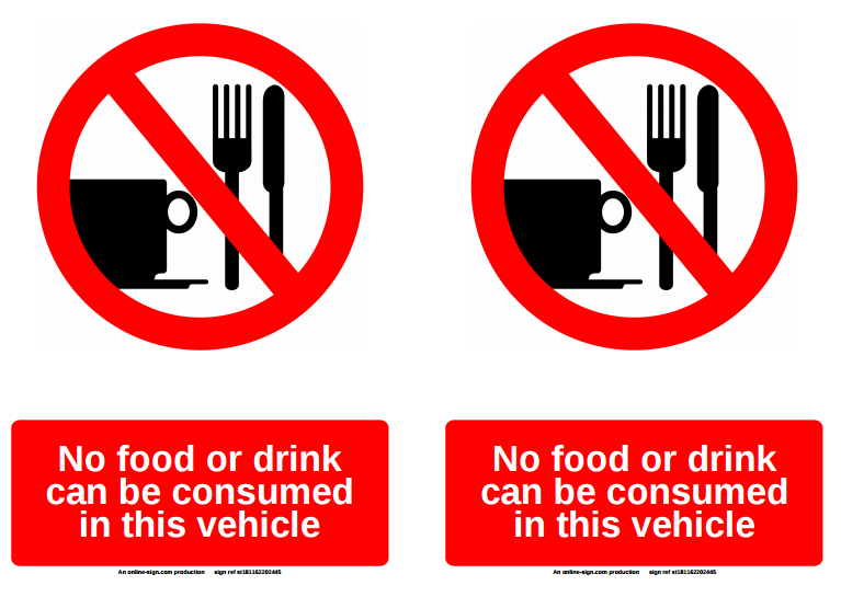 3 No Food Or Drinks Sign Templates Free Amp Premium Templates