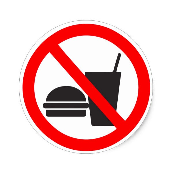 no-food-or-drink-sign