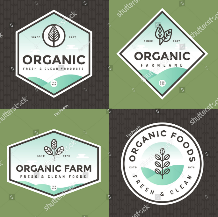 organic-food-restaurant-clean-label-logo-template