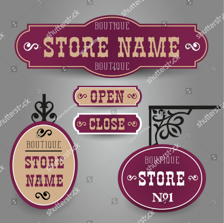 outdoor-vintage-styled-name-board-template