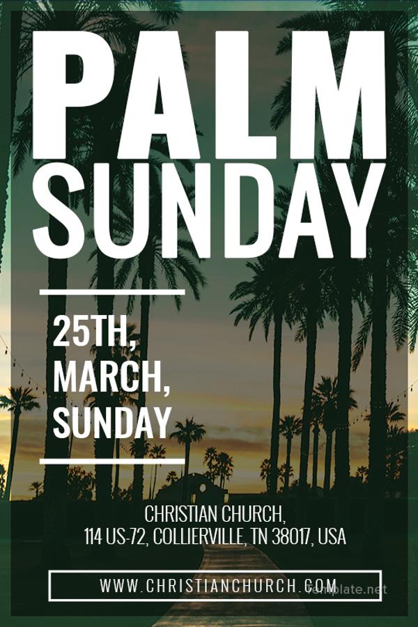 palm sunday tumblr post template