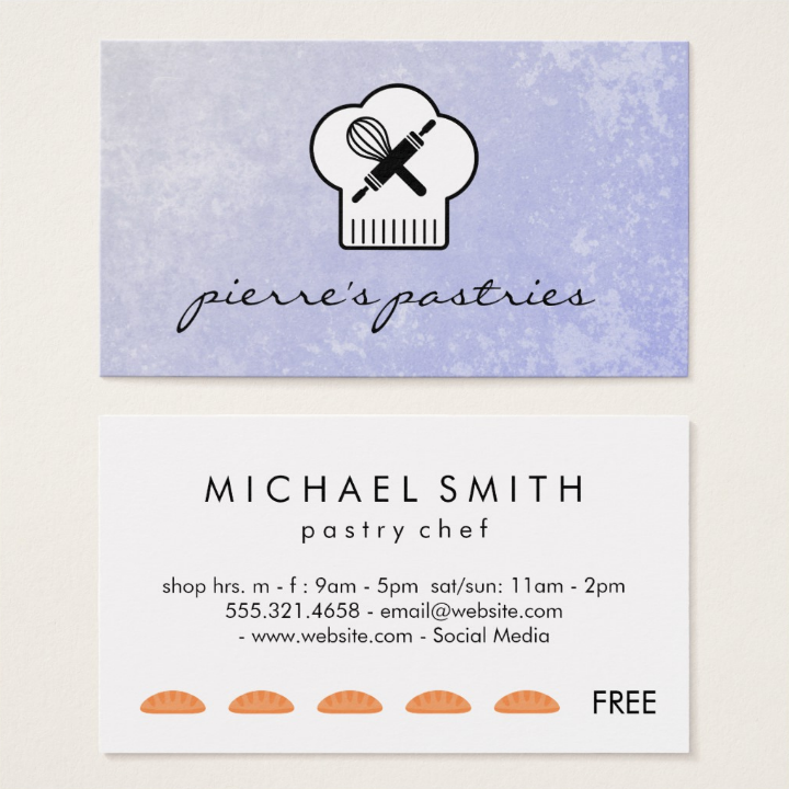 pastry-restaurant-punch-card-template