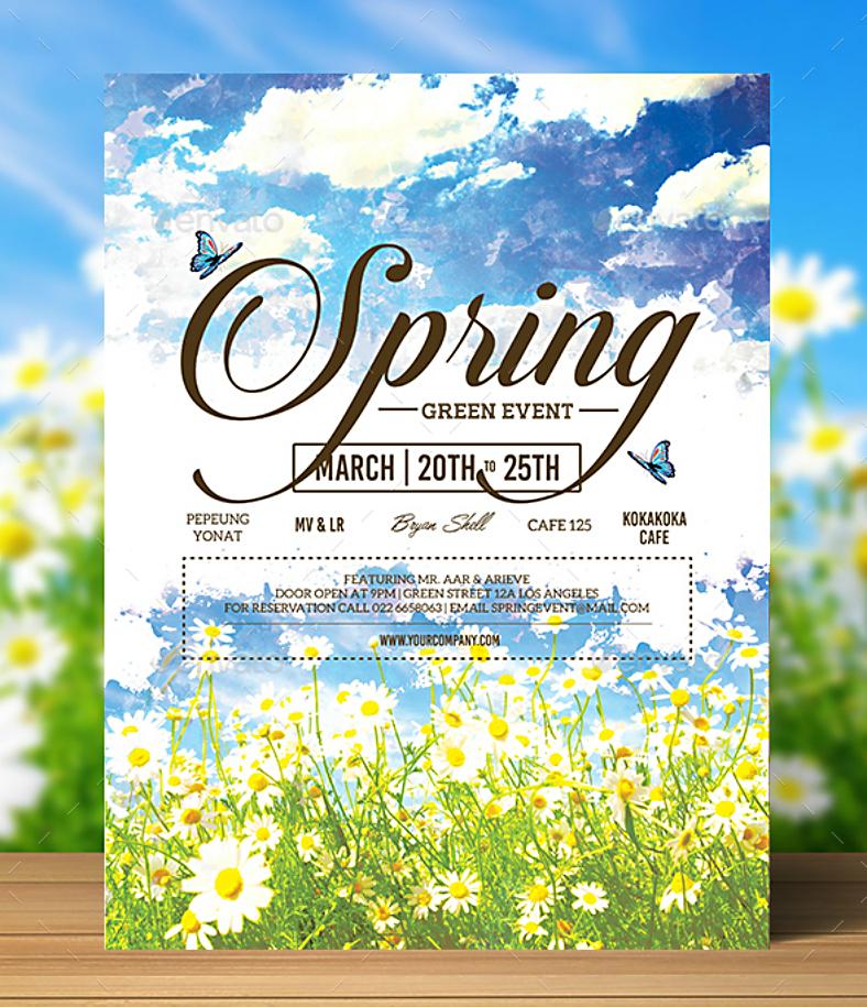 photorealistic-spring-invitation-template