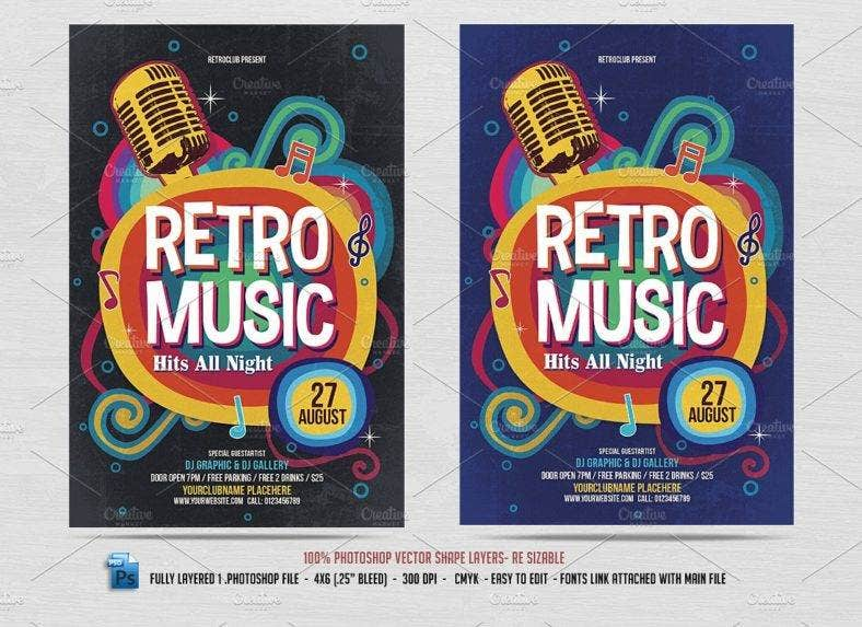 retro_music_flyer