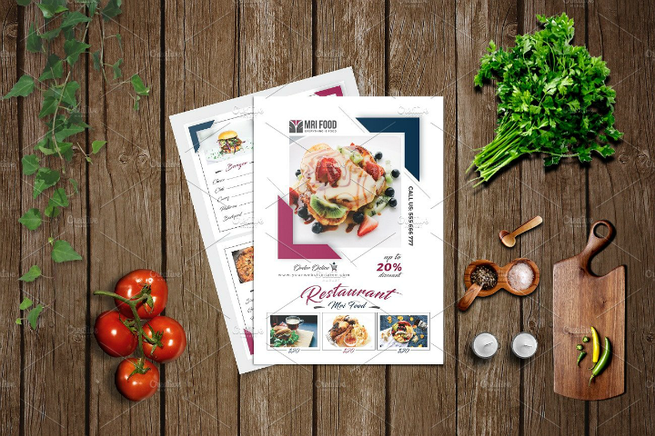 salad-food-menu-template