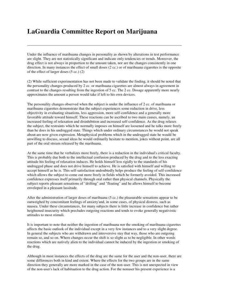 Sample Committee Report