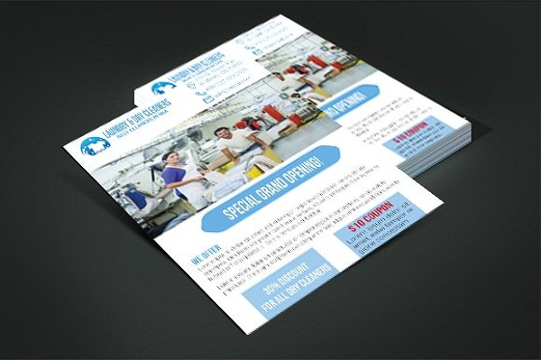 9 laundry flyer designs templates psd ai free premium sample dry cleaners flyer saigontimesfo