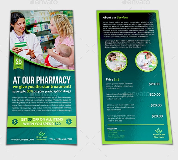 9 Pharmacy Flyer Designs Templates Psd Ai Free Premium