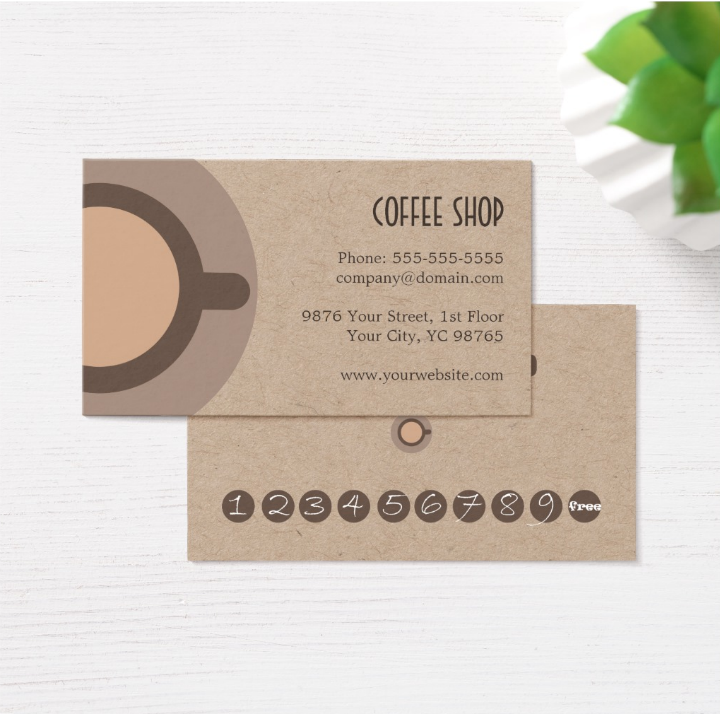 Simple-Unique-Kraft-Coffee-Shop-Punch-Card-Template