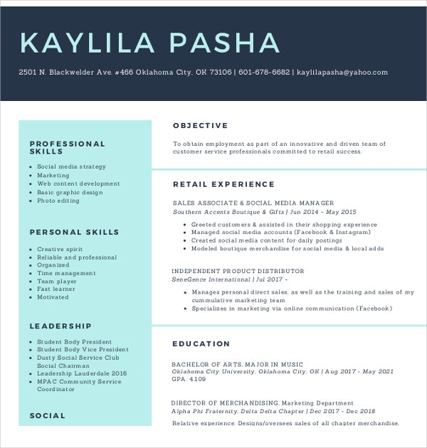 15 social media resumes templates pdf doc free premium templates social media associate resume altavistaventures Image collections