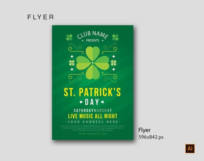 St Patrick's Flyer