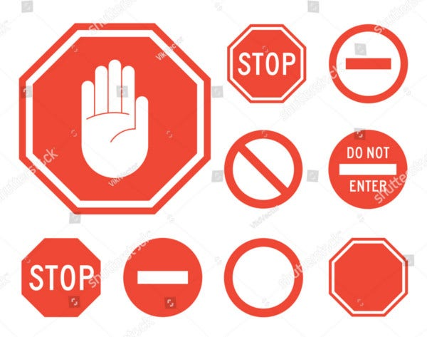 Stop Sign Collection