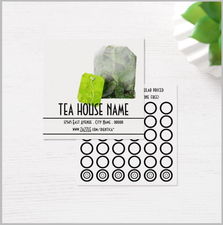 14  restaurant punch card designs  u0026 templates