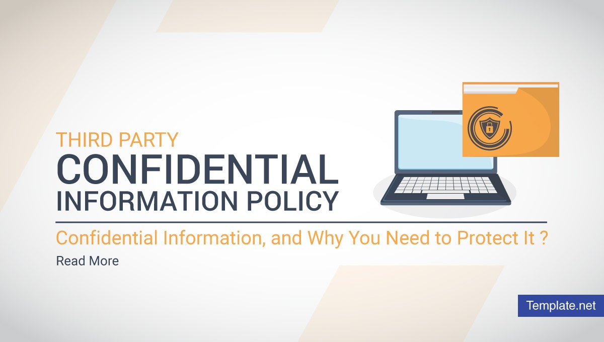third party confidential information policy