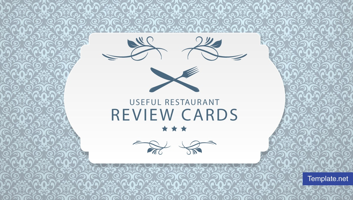 usefulrestaurantreviewcardtemplates