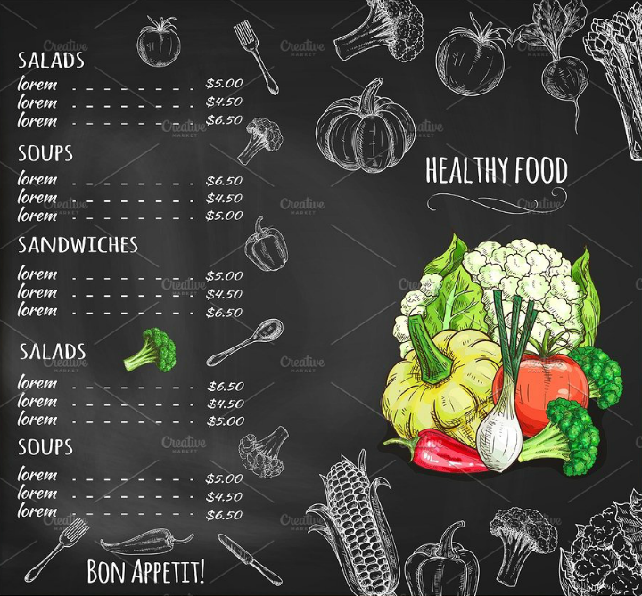 veggie-restaurant-salad-menu-template