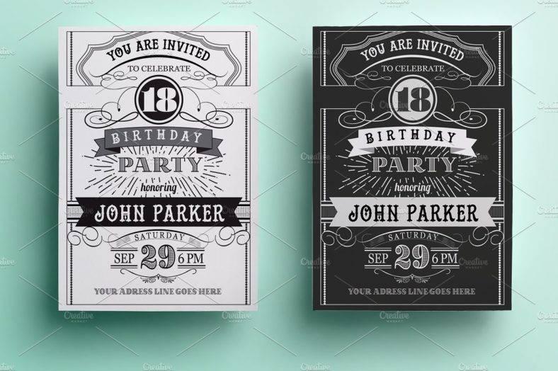 vintage_birthday_invitation