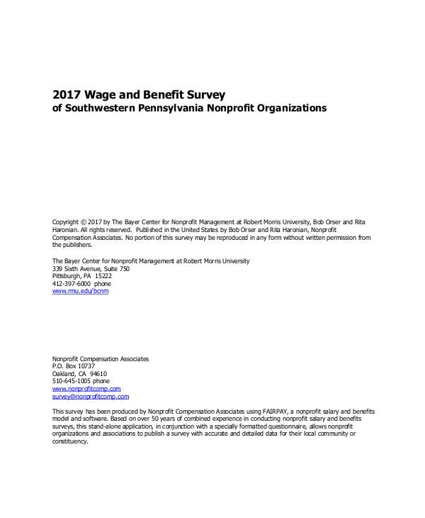 Wage-and-Benefit-Survey