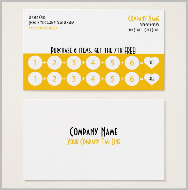yellow-restaurant-loyalty-punch-card-template