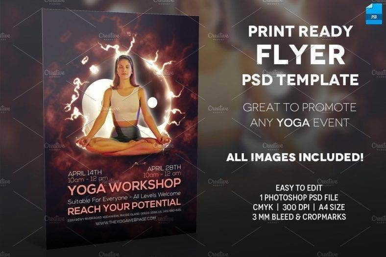 yoga event flyer template 788x524