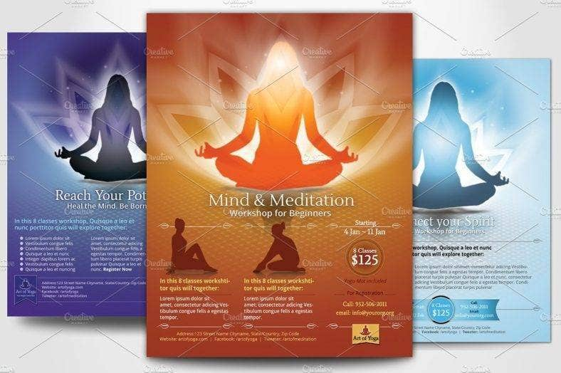 Yoga Meditation Flyer
