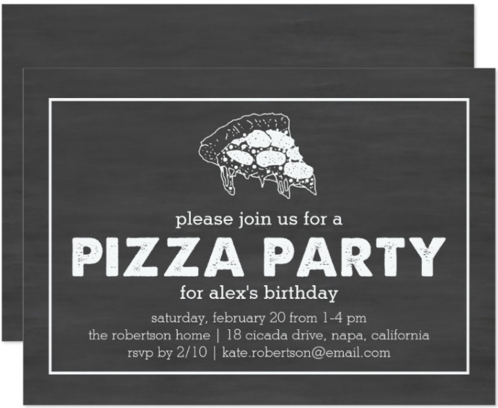 black-and-white-pizza-party-invitation-template