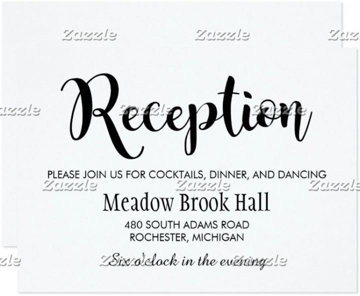black-script-wedding-reception-card-template
