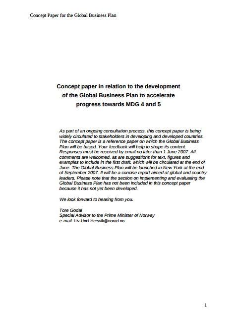 Concept Of Research Paper