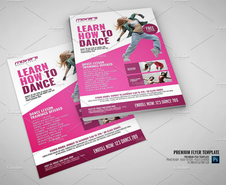 Dance Studio Flyer