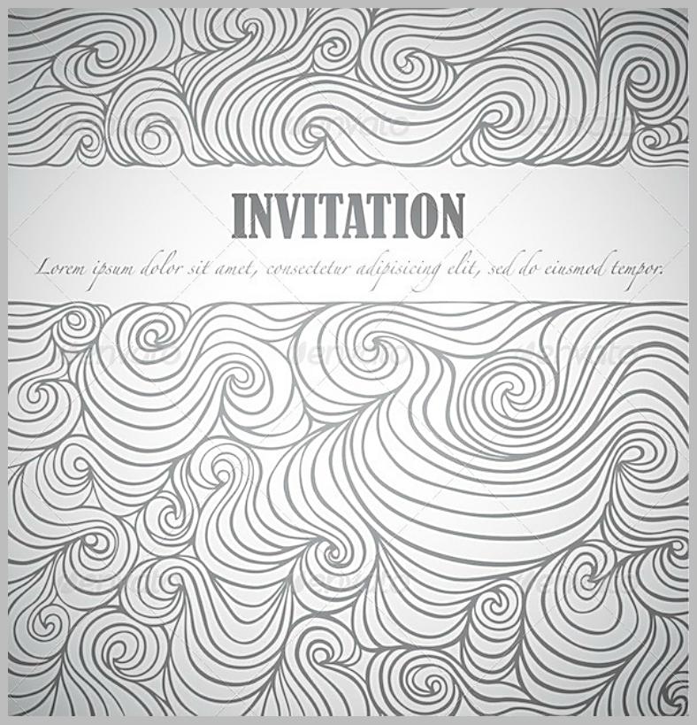 Doodle Invitation