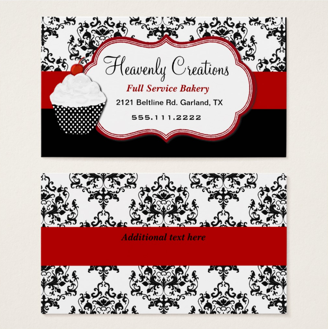 elegant-cupcake-business-card