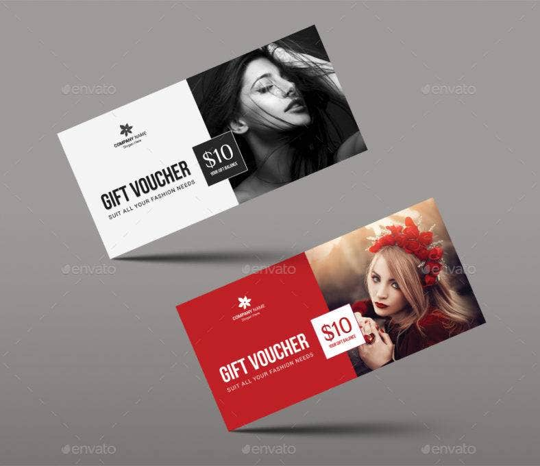 elegant shopping voucher template 788x680