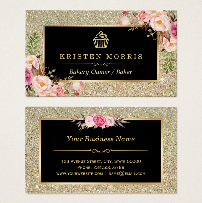 glitter-cupcake-business-card