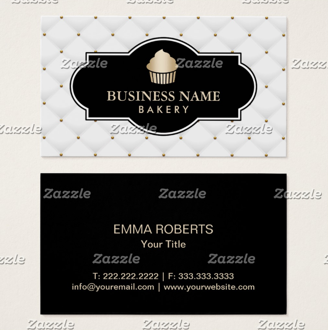 luxury-quiltted-cupcake-business-card