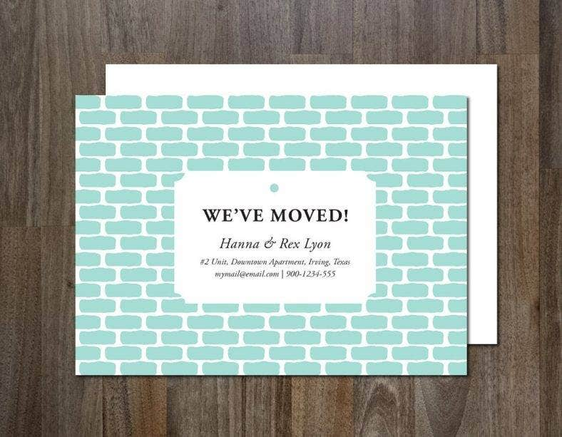patterned-bricks-change-of-address-card